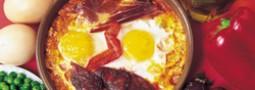 Receta Vime: Huevos a la flamenca
